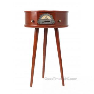 座檯式木製唱盤播放櫃