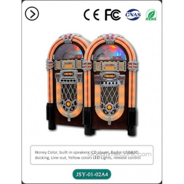 LED Light Jukebox CD Player