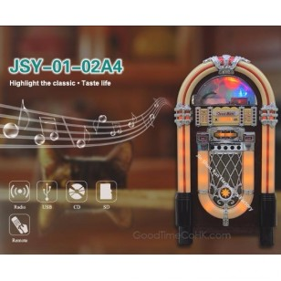 LED Light Jukebox CD Player