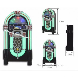 Top selling Full size Jukebox with CD Player,Bluetooth,Radio,AUX-in and Line out Function