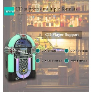 2017 Popular Desktop Jukebox CD USB SD MP3 Player