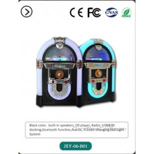 Retro desktop jukebox - CD Players - mp3 player - Bluetooth speaker