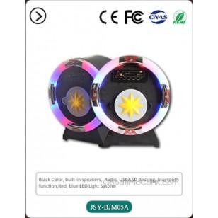 Mini Round Table-top Jukebox USB/SD,FM Radio,Bluetooth