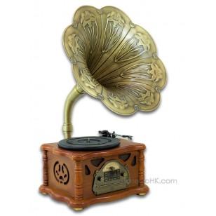 Retro Turntable Home Audio USB/SD MP3 Vinyl Player