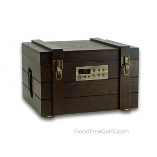Table-top Wood Cabinet Turntable USB,AUX