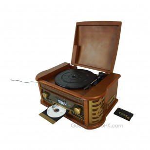 Gramophone Vinyl Records Player Antique Turntable